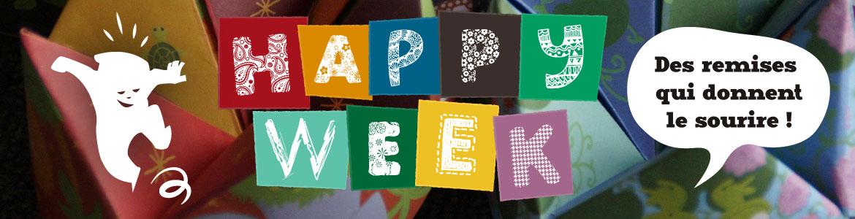 Happy week : des remises qui donnent le sourire !