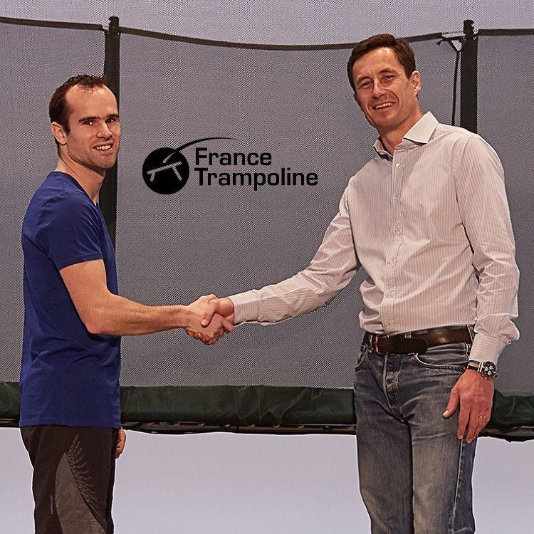 Partenariat France Trampoline & Sébastien Martiny