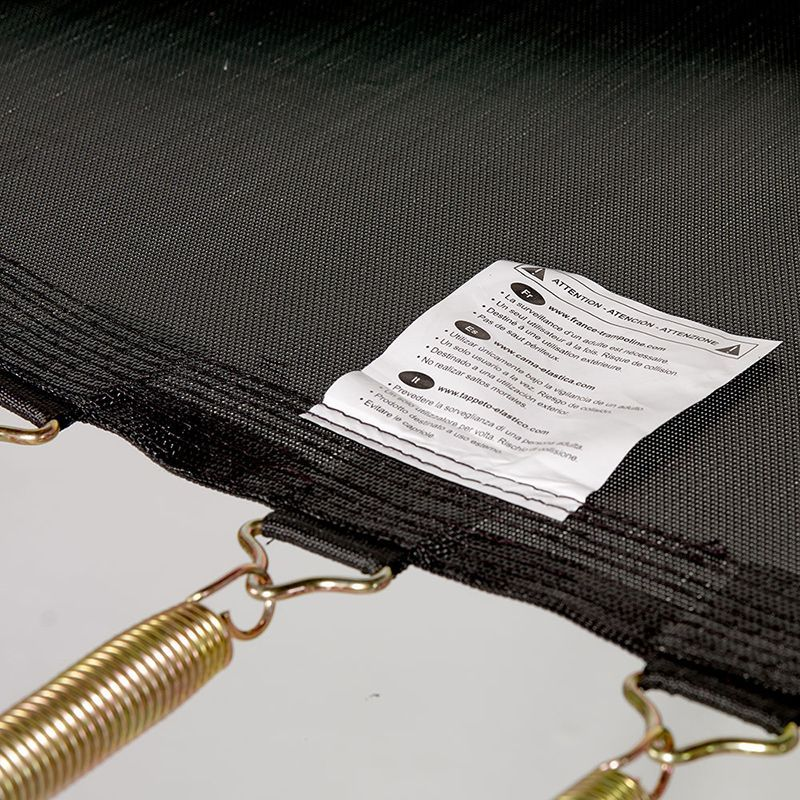 Reinforced jumping mat