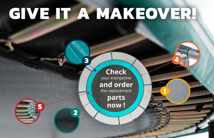 They will be ready … will your trampoline?