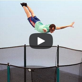 View our leisure trampoline videos